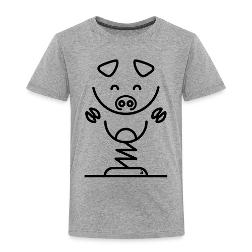 Simple pig - T-shirt Premium Enfant