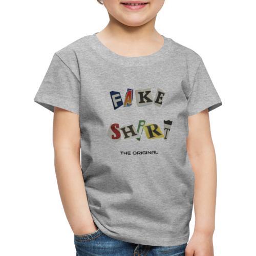 Fake Shirt - Kinder Premium T-Shirt