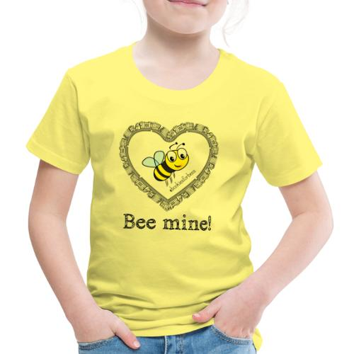 Bees3-1 save the bees | bee mine! - Kids' Premium T-Shirt