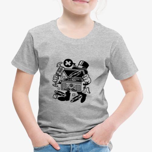 Platine vinyle classique - T-shirt Premium Enfant