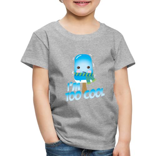 Funny to cool spell cute ice cream in summer - Kids' Premium T-Shirt