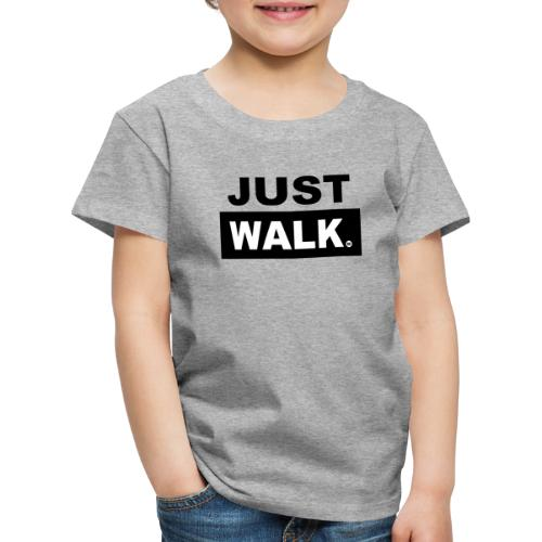 JUST WALK KIDS & TEENS zw - Kinderen Premium T-shirt