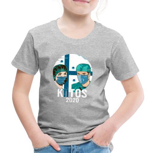 Kiitos 2020 - Lasten premium t-paita