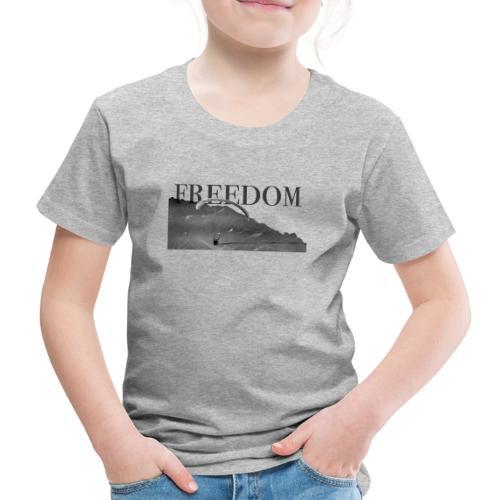 Freedom #3 - entre ciel et montagne - T-shirt Premium Enfant