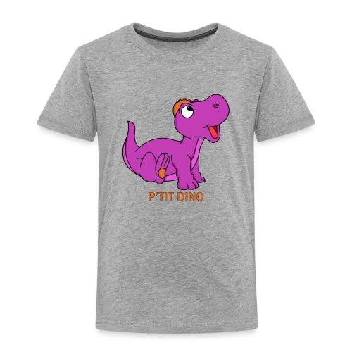 P'tit Dino Violet - T-shirt Premium Enfant