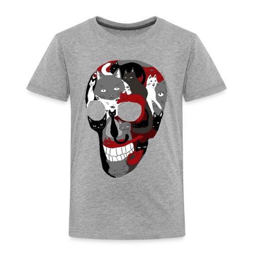 Crâne of the cat - T-shirt Premium Enfant