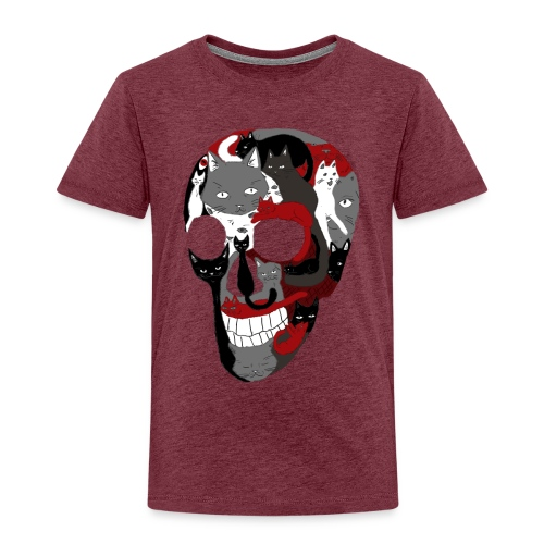 Crâne of the cat - T-shirt Premium Enfant