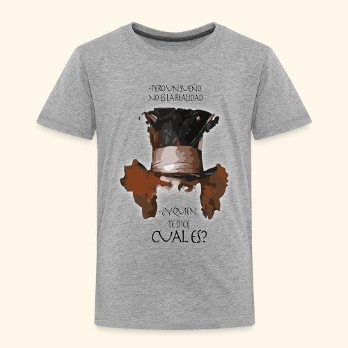 CUAL ES - Camiseta premium niño
