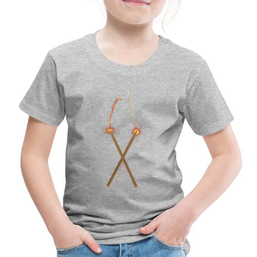Fire Drum Sticks - Kinder Premium T-Shirt