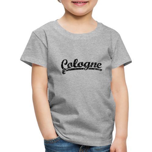 Cologne Classic Vintage Schwarz - Köln Design - Kinder Premium T-Shirt