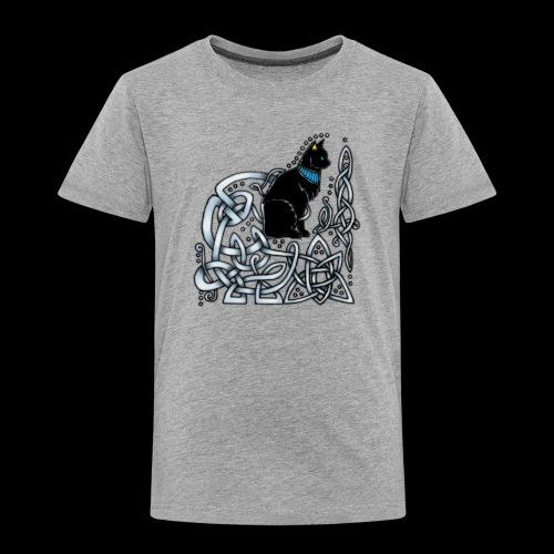 Celtic Cat - Kids' Premium T-Shirt