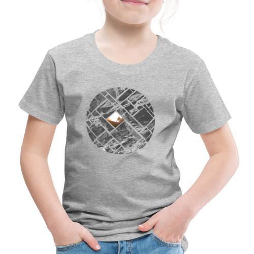 Felsklettern Bouldern Grafisches Design - Kinder Premium T-Shirt