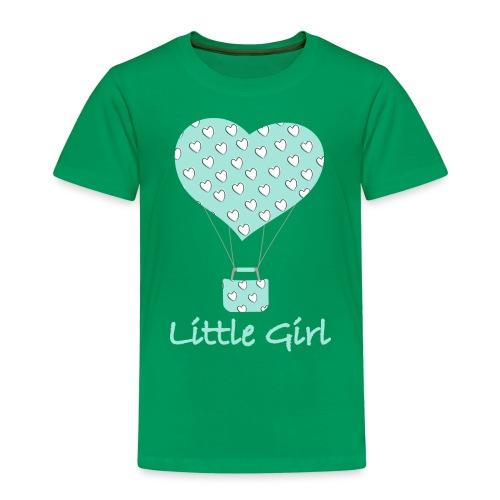 Little Girl in mongolfiera - Maglietta Premium per bambini