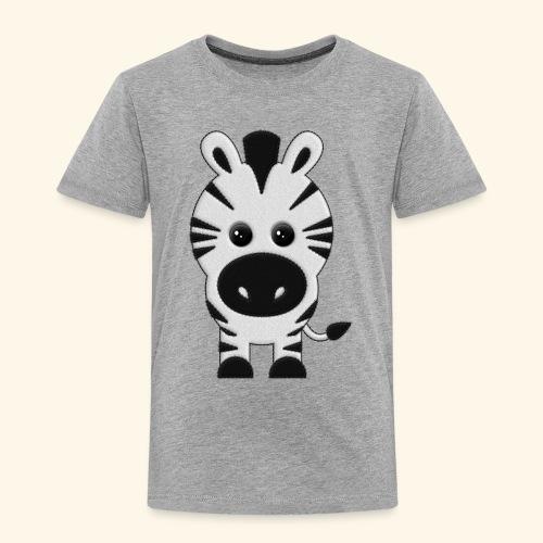 Cebra de peluche - Camiseta premium niño