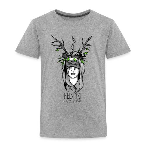 Northern Dryad Frameless - Kids' Premium T-Shirt