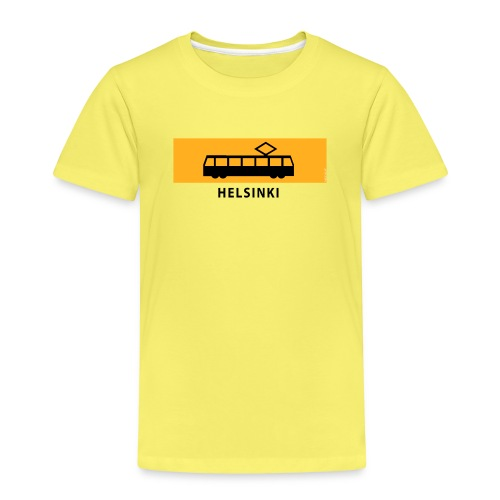RATIKKA PYSÄKKI HELSINKI T-paidat ja lahjatuotteet - Lasten premium t-paita