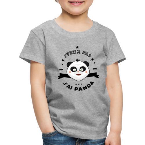 j'peux pas j'ai panda - T-shirt Premium Enfant