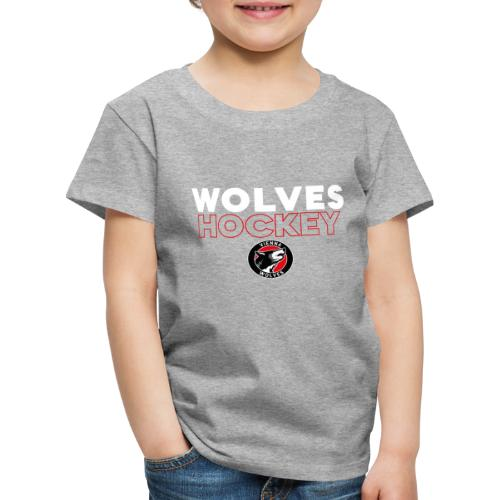 Wolves Hockey - Kinder Premium T-Shirt