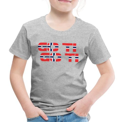 Bonne - Premium-T-shirt barn