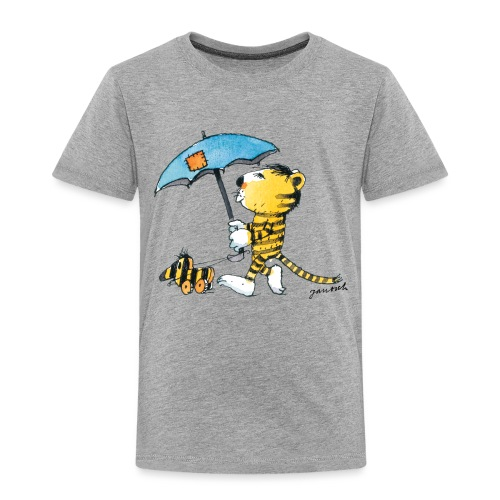 Janosch Kleiner Tiger Tigerente Mit Schirm - Kinder Premium T-Shirt
