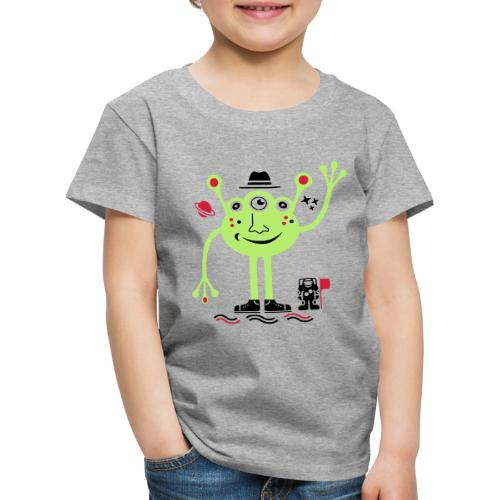 Martian | Marciano Amistoso y Astronauta - Camiseta premium niño