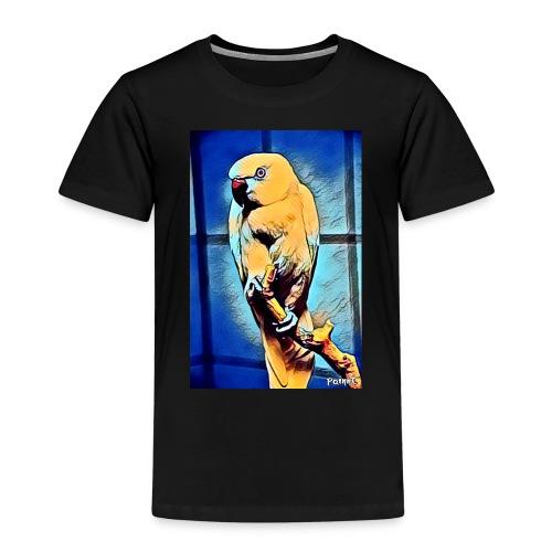 Bird in color - Lasten premium t-paita