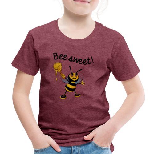 Bees7-2 Bienen sind süß   save the bees - Kids' Premium T-Shirt