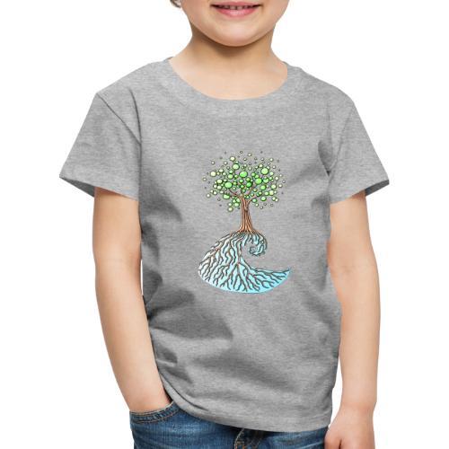 Wellenbaum1 - Kinder Premium T-Shirt