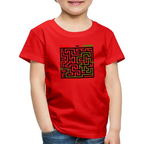 Parkour Maze parkour vs people - Børne premium T-shirt