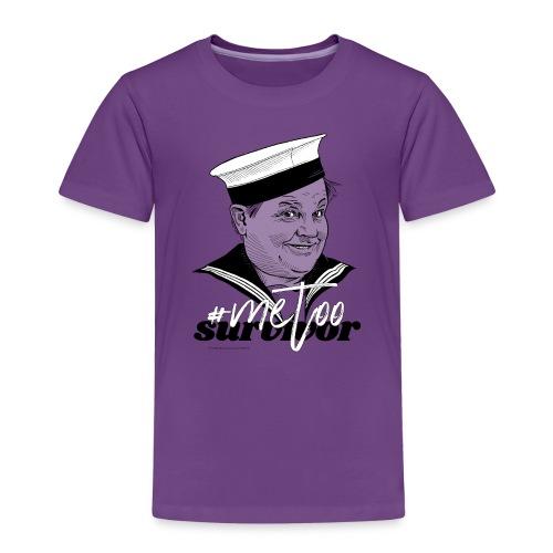 #metoo survivor - Børne premium T-shirt