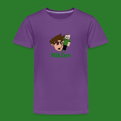 NikZen desegen - Børne premium T-shirt