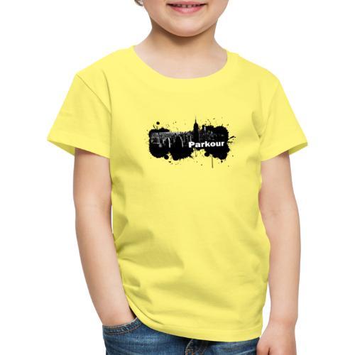 Parkour Splash New York - Børne premium T-shirt