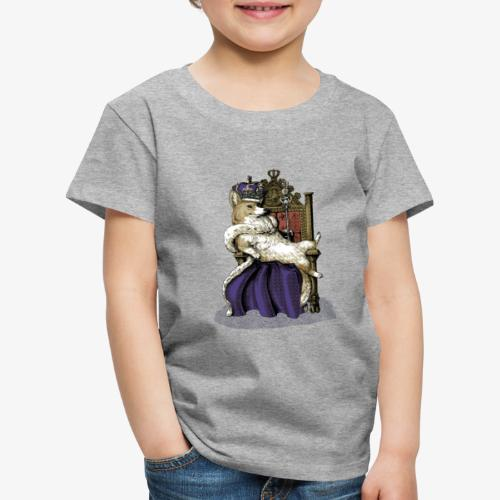 Queen Corgi - Kids' Premium T-Shirt