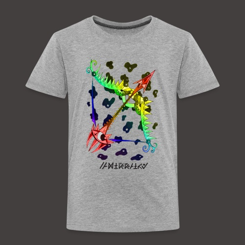 Sagittaire multi-color - T-shirt Premium Enfant