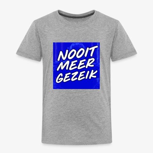 De 'Nooit Meer Gezeik' Merchandise - Kinderen Premium T-shirt