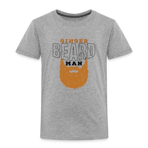 Beard Ginger Beard Man Redhead Gifts For Men - Kinder Premium T-Shirt