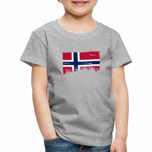 NORWAY FLAG T-shirts, Hoodies and Gifts ideas - Lasten premium t-paita