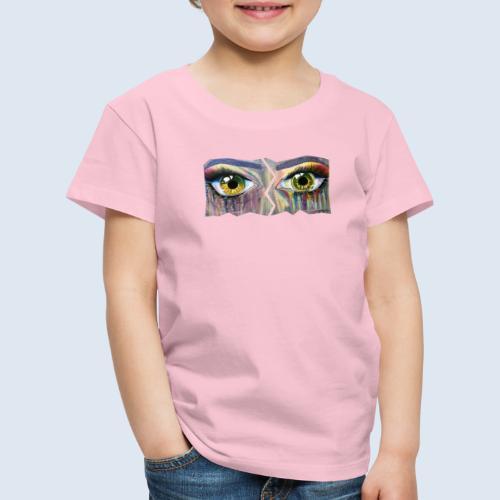 Open Eyes Berlin PopArt ickeshop BachBilder - Kinder Premium T-Shirt