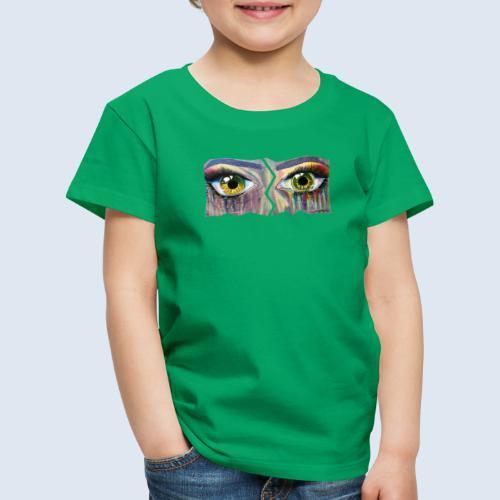 "Augenblick ""open eyes"" made in Berlin - Kinder Premium T-Shirt"