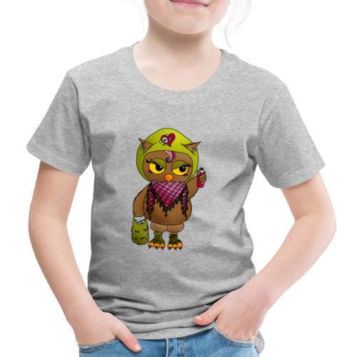 Eule FINE - Eulenclique - Kinder Premium T-Shirt