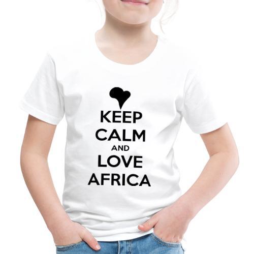 keep calm noir - T-shirt Premium Enfant