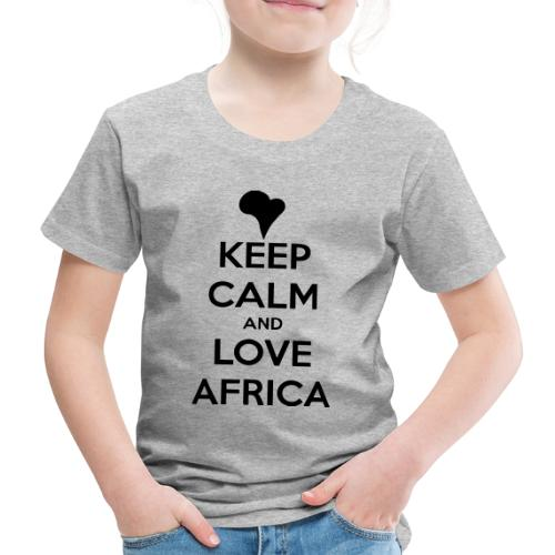 keep calm noir - T-shirt Premium Enfant