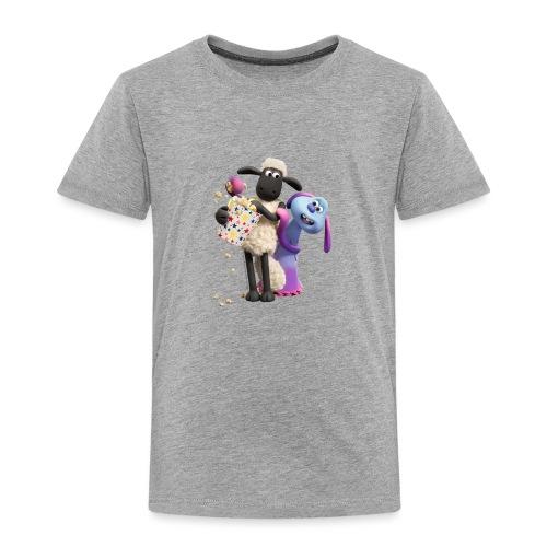 Shaun das Schaf Farmageddon Shaun und Lula - Kinder Premium T-Shirt