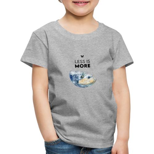 Stahlzart - Less is more. (Earth Edition) - Kinder Premium T-Shirt