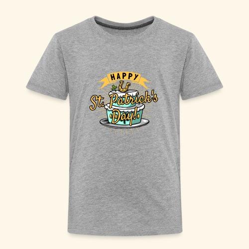 Happy St.Patricks Day T-Shirt - Kinder Premium T-Shirt