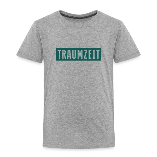 Traumzeit Klassik grünblau - Kinder Premium T-Shirt