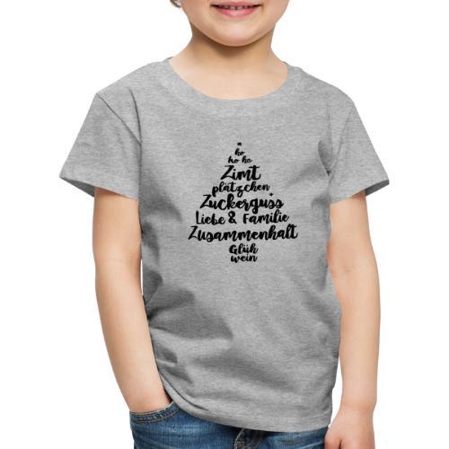 Weihnachtsgruß - Kinder Premium T-Shirt