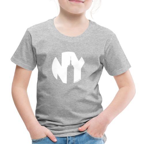 Logo French Yorker blanc - T-shirt Premium Enfant