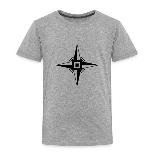 Erdenstern, Symbol, Vierzackiger Stern, Windrose - Kinder Premium T-Shirt