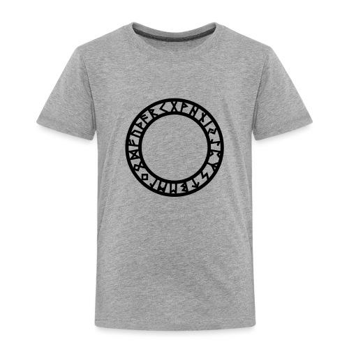 Runen Kreis, Magie Symbol, Futhark, Germanisch - Kinder Premium T-Shirt